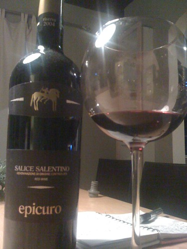 2003 Epicuro Salice Salentino Riserva