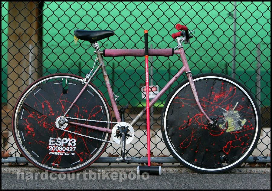 Mark polo bike 1