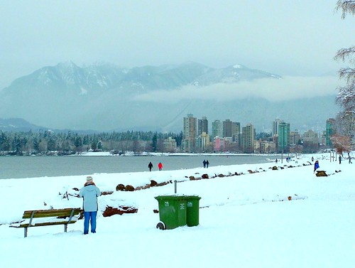 Snow Day in Vancouver 005