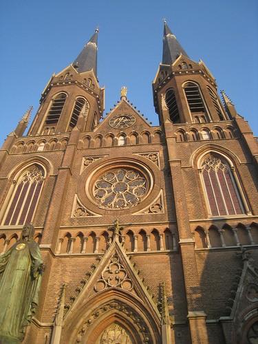 Cathedral in Tillburg, Holland