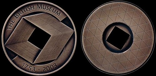 British Museum 250th Anniversary Medal