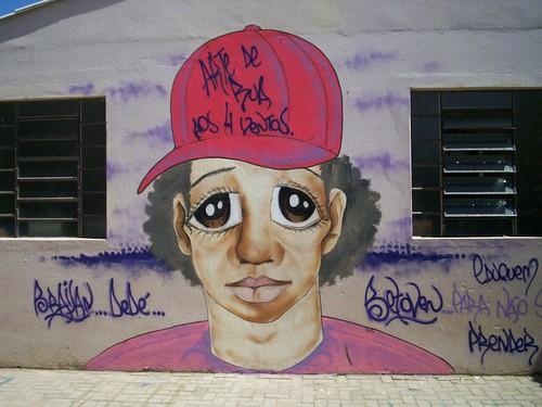 Arte de Rua visita cinco escolas de Jaguarão em maio. Crédito: Divulgação
