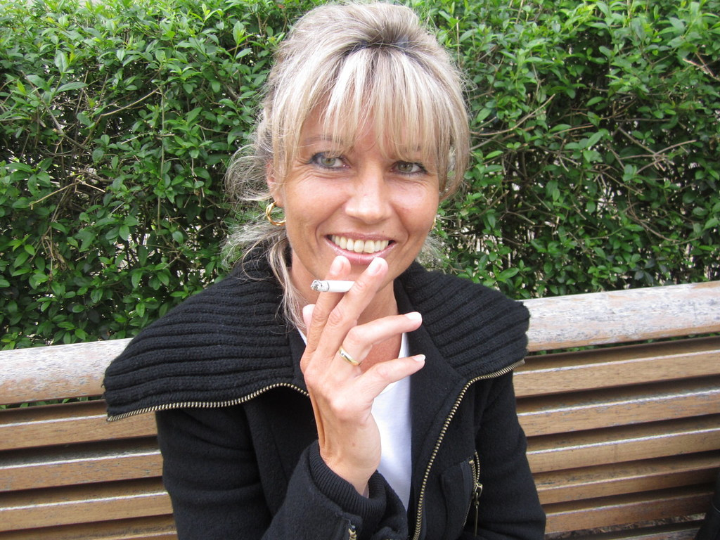 Mature women smokers