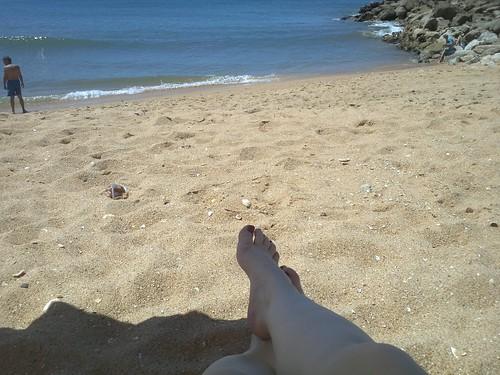 Primeiro dia de praia.... by Cissa.
