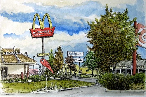 Fresno, CA- McDonald's
