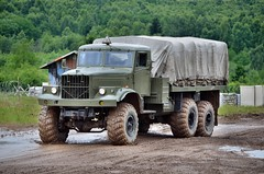 KrAz-255B (The Adventurous Eye) Tags: b army nikon czech military exhibition 7000 kraz 2011 255 bahna d7000 kraz255 nikond7000
