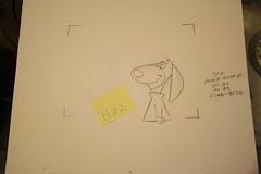 Hanna-Barbera 1970's animation pencil art # H82 (Nemo Academy) Tags: original hanna drawing herculoids barbera the