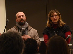 Marc and Sara Schiller Speaking at the Wooster Collective Urban Art Lecture