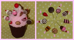 Sewing Pins Topper - Polymer Clay (yifatiii) Tags: ceramica cake studio pc strawberry pin cookie sweet handmade embroidery chocolate sewing sew felt pins polymerclay fimo biscuit cupcake jelly roll sculpey pincushion etsy cushion topper layercake kato chocolatechips plastica premo polyclay arcilla ceramicaplastica pastesintetiche coldporcelain polimerica prosculpt sewingpins arcillapolimerica arcillaspolimericas arcillaspolimricas porcelanaenfro yifatiii yifayiii porcelanaenfrio