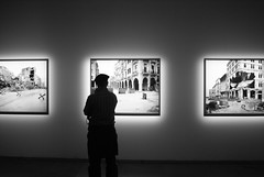 How long? (the bbp) Tags: mostra bw lebanon man silhouette photography war foto picture guerra exhibition bn uomo fotografia beirut libano biennaledivenezia thebbp
