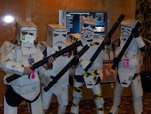 Cardboard Troopers