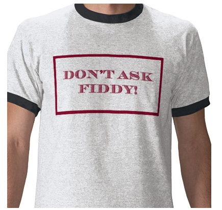 Don't Ask Fiddy t-shirt