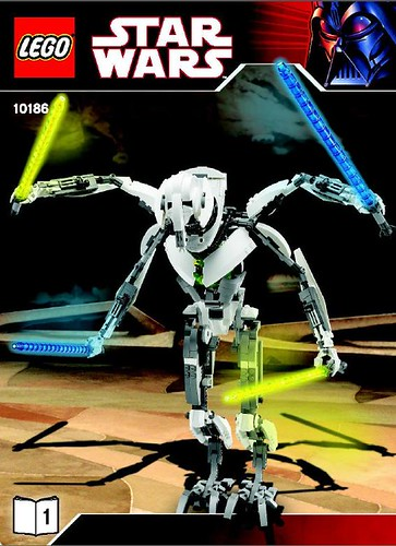 LEGO Star Wars 10186 General Grievous figure set [News]
