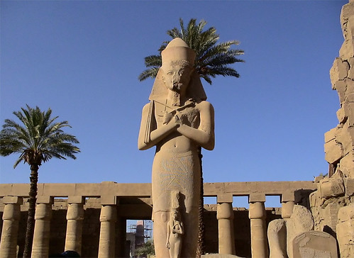 Estatua de Ramsés II, Templo de Karnak, Egipto