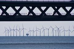 Öresundsbron (Håkan Dahlström) Tags: bridge sea water skåne agua eau wasser power sweden schweden malmoe sverige acqua malmö vatten malmo windpower malm oresund öresund öresundsbron svezia oeresund