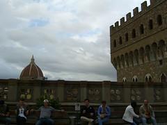 On the roof of the Uffizi 2 (Jason Alderman) Tags: italy florence uffizi