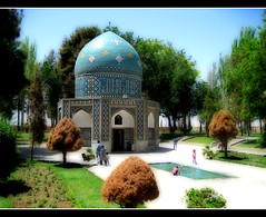 A PoeT (Alizadeh100) Tags: color poetry tomb architect poet gathering khorasan attar neyshaboor  neyshabour neyshabur   ortoneffect neishabour nishapur   upcoming:event=616375