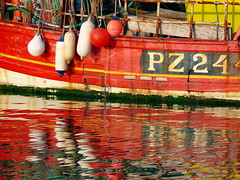 Reds (pompey shoes) Tags: red boat fishing hampshire relection portsmouth buoys trawler southsea redboats bigmomma buoyant 15challengeswinner photofaceoffwinner photofaceoffplatinum thechallengegame thechallengegroup challengegamewinner pfogold pfohiddengem tmoacawardwinner jan09pfobrackets herowinner ultraherowinner thepinnaclehof ultrawinner tphofweek50 ispysweepwinner