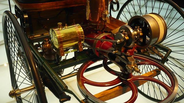 motor of 1886 Benz - Patent Motorwagen P1090349