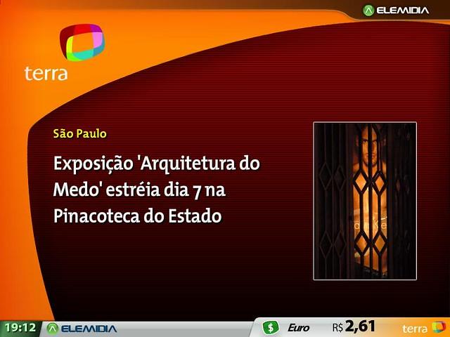 Arquitetura do Medo  Pinacoteca by Andr Gardenberg
