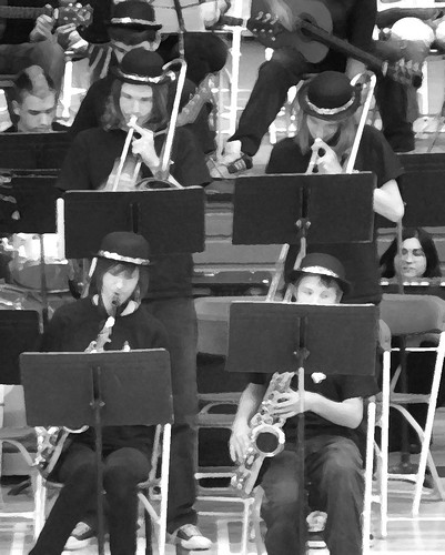 jazz band detail