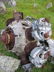 Bristol Blenheim Mk.IV L9039: Engine