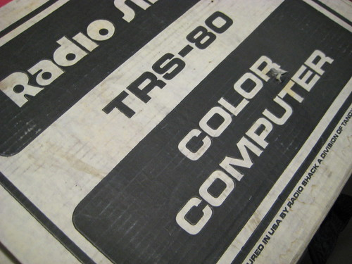 TRS-80 Color Computer box