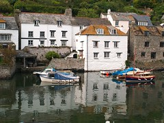 Polperro Harbour, Cornwall, England (saxonfenken) Tags: england reflection water geotagged boats cornwall searchthebest harbour 101 superhero fishingboats polperro e500 gamewinner abigfave june2008 theperfectphotographer friendlychallenges herowinner storybookwinner pregamewinner boat101