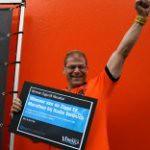 Winnaar Marathon EK-kijken Marco Sikman bleef 61 uur non-stop wakker