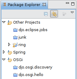 Package Explorer avant