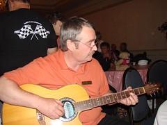 John tunes things up (redvette) Tags: corvette rivervalleyvettes redvette tomhiltz