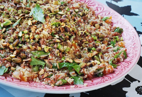 Anne's Food: Quinoa & Red Rice Salad