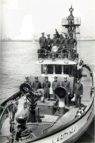 Fireboat No. 2 Crew - 3/23/41
