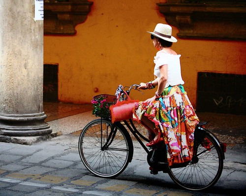 bellezza in bicicletta (beauty on bike)