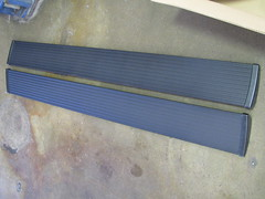 The running boards.