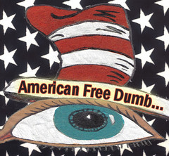 American Free Dumb.. (craigless64) Tags: life music art collage digital photoshop creativity design artist song unique album irony craig hop tune morrison quip cmor