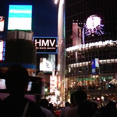【写真】ミニデジで撮影した渋谷駅前のビル群