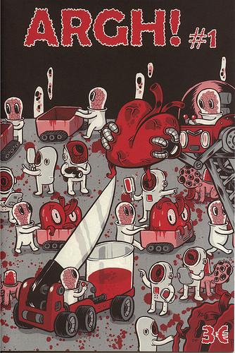 ARGH! 1, el rojo