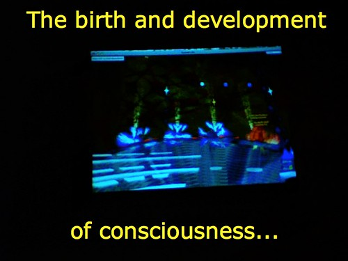 The birth and development of consciousness
