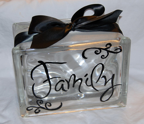 Personally Painted Family block