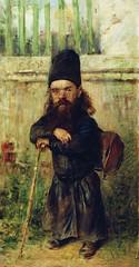 Маковский Константин Егорович (1839-1915) :  Монах - сборщик податей на храм