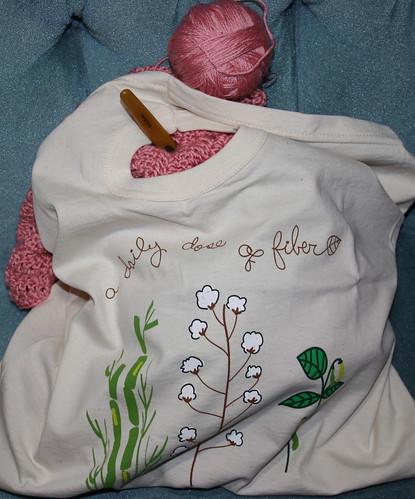 Ravelry organic veggie bag