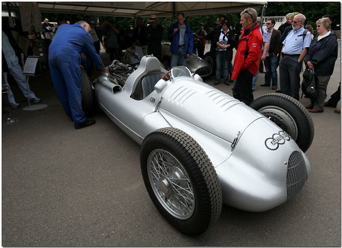 Auto Union D Type Goodwood Festival of Speed 2008 (by antsphoto)