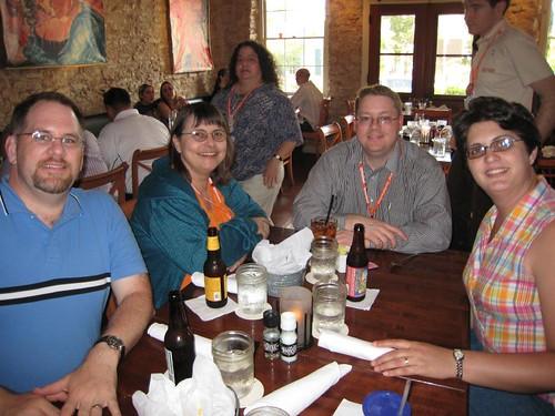Pastor Dan, Loggersbrat, AndyT & Mrs. Pastor