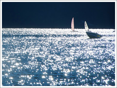 Sailing on silver light (Megara Liancourt) Tags: light lake france silver savoie blueribbonwinner golddragon sonyalpha100 mywinners abigfave abigfav anawesomeshot aplusphoto