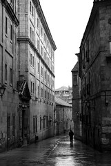 No name (the bbp) Tags: street bw man spain solitude strada loneliness bn espana uomo salamanca spagna solitudine 123bw thebbp aplusphoto
