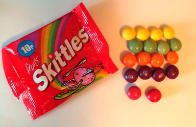 UK Skittles vs US Skittles
