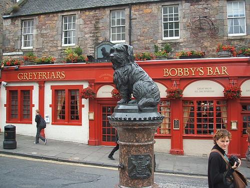 July 23 2008 Edinburgh Greyfriar's Bobby