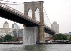 "Brooklyn Bridge ""Waterfall"""