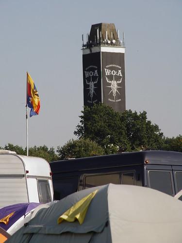 Skats uz Wackne torni - Wacken Open Air 2008 - Otrā diena